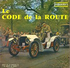 LE CODE DE LA ROUTE 60'S LP PRESIDENT 168 POCHETTE AUTO !