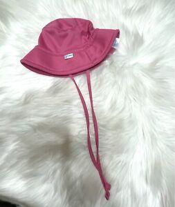 Iplay Beach Hat Pink Baby Girl 0-6 Months Infant Cap SPF 50