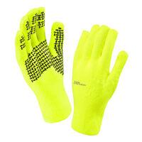 2016 SealSkinz Ultra Grip Waterproof & Windproof Gloves - Hi Vis Yellow