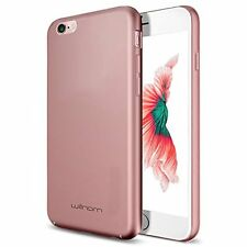 Willnorn Full Body Protection Extremely Slim Case W/Glass! - Apple 6 - Rose Gold