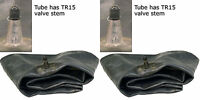 (TWO)  6.50-16 7-16 7.50-16 Farm Implement Tractor Tire Inner Tubes TR15 HD
