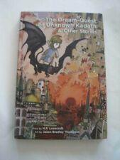 Signed! Jason Bradley Thompson Dream Quest Unknown Kadath & Others Hc Lovecraft
