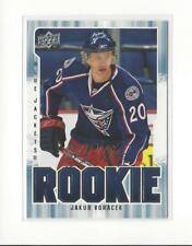 2008-09 Upper Deck MVP #364 Jakub Voracek RC Rookie Blue Jackets