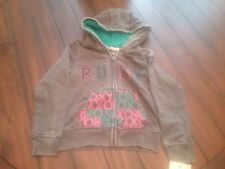 Roxy girls hoodie small size 8 new with tags all cotton