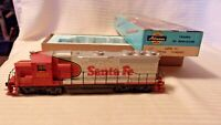HO Scale Athearn GP-40 Diesel Locomotive, Santa Fe # 6067 War Bonnet Colors