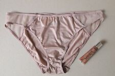 Victoria's Secret Culotte Bikini Knickers Panties Nude Tan & Cocoa Lip Gloss LG