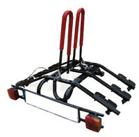 Platform 3 Bike Rack / 3 Cycle Carrier Towbar Mounted Tilting option black