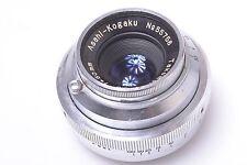 ASAHIFLEX ASAHI KOGAKU 'PENTAX' 50MM 3.5 TAKUMAR M37 FEET SCALED LENS.