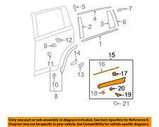 TOYOTA OEM Highlander Rear Door-Rocker Panel Molding Trim Left 750760E071A0
