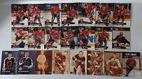 1991-92 Pro Set Series 1 Montreal Canadiens Team Set of 22 Hockey Cards