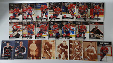 1991-92 Pro Set Series 1 Montreal Canadiens Team Set of 22 Hockey Cards