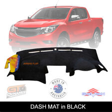 BLACK DASH MAT MAZDA BT50 UP UR GT XT XTR Hi-Rider BT-50 10/2011-2018 DM1246