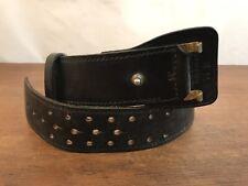 Mixson Leathercraft 71b Black Leather Duty Belt Mens 34