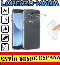 Funda Silicona Carcasa posterior Samsung Galaxy J7 2017 / J7 17 Transparente 1mm