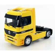 Welly Mercedes Benz Actros 1857 Tractor Truck 2-Assi 1998 Yellow 1:32