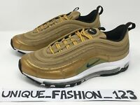 NIKE AIR MAX 97 CR7 X CRISTIANO RONALDO US 9 8 42.5 RAGS TO RICHES GOLD METALLIC