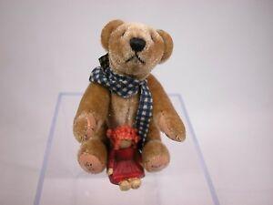 "World of Miniature Bear 4"" Plush Bear Theodore #843 CLOSING"