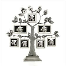 Pewter Family Photo Tree Frames 7 pictures Home Decor Art Perfect Gifts