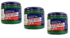 3x DAX Pomade with Vegetable Oils/ Haarpomade Original aus USA 397g