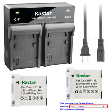 Kastar Battery AC Rapid Charger for Canon NB-11L Canon IXUS 265 HS IXUS 275 HS