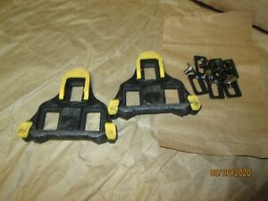 """Bicycle PVC Pedals 1//2/"""" Yellow 202-360 New"""