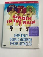 Singin' In The Rain ( Dvd, Two Disc Special Ed, 2002) 50th Anniversary New Mint