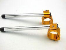 Clip On Handle Bar For Yamaha YZF R1 98-11 R6 2005-2010 07 08 09 750R 94-97 50mm