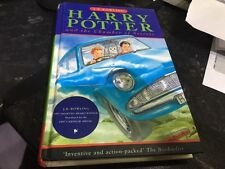 Harry Potter and the chamber of secrets by J. K. Rowling hardback AVERAGE