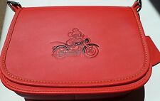 COACH x DISNEY Limited Edition Red Mickey Mouse Leather Saddle Bag  RRP £550