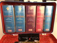 Harry Potter 5 Complete Book 34 Cassettes Goblet Of Fire Prisoner Of Azkaban New