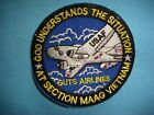 VIETNAM WAR PATCH, USAF GUTS AIRLINES AT SECTION MAAG VIETNAM