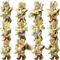 Saint Seiya Set Caballeros de Oro 12 figuras Saga, Shaka, Aioria, Shura, Dohko