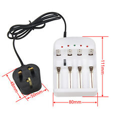 Universal i4 Intelligent Li-ion/NiMH 18650/26650/AA Battery Charger 4 Output
