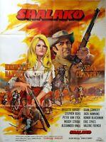 Plakat Kino Western Shalako Brigitte Bardot Sean Connery - 120 X 160 CM
