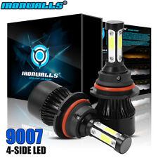 2400W LED Headlight 9007 HB5 Hi/Lo Bulbs 6500K for Ford F-150 92-98 Ranger 93-11