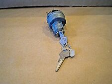 NOS Mopar 1960-1968 Plymouth Dodge Chrysler ignition switch w/keys # 2497158