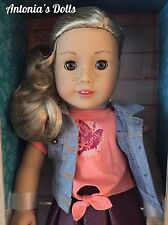 "American Girl Tenney Grant Doll & Book New NIB 18"" Tenny"