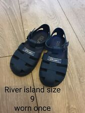 River Island Boys Jelly Shoes Size 9 Infant Blue