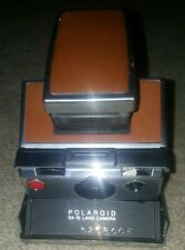 SX-70 Camera And Leather Case