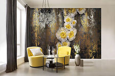 Giant Wall mural photo Wallpaper 368x254cm  Abstract flower composition