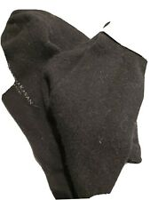 DONNA KARAN PURE BlACK CASHMERE SOCKS