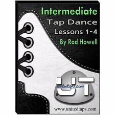 Intermediate Tap Dance Lessons 1-4 on DVD by Rod Howell (4 Hours 7 minutes)