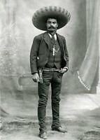 Antique Photo ... Mexican Revolution Emiliano Zapata ... Photo Print 5X7