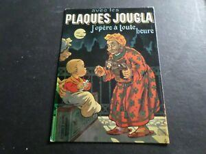 CPM REPRODUCTION ANCIENNE AFFICHE PUB PLAQUES JOUGLA, VF POSTCARD