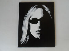 Tom Petty Hand Painted Canvas Wall Painting / Wall Art 11 X 14