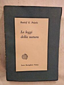 LE LEGGI DELLA NATURA di Rudolf Peierls 1960 Boringhieri libro di fisica usato