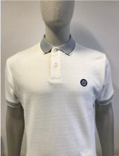 Ska & Soul Basketweave Polo Shirt/Ecru-Große SS18 Ausverkauf