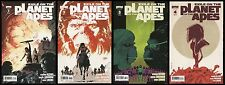 Exile on the Planet of the Apes POTA Comic set 1-2-3-4 Lot Boom! Bag & Boarded