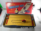 """Vintage """"Mystery Traveling Top"""" Wooden Magnetic Spinning Wheel"""