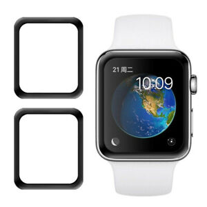 For Apple Watch 44 mm Screen Protector Ultra-thin Film Bumper With Black Frame